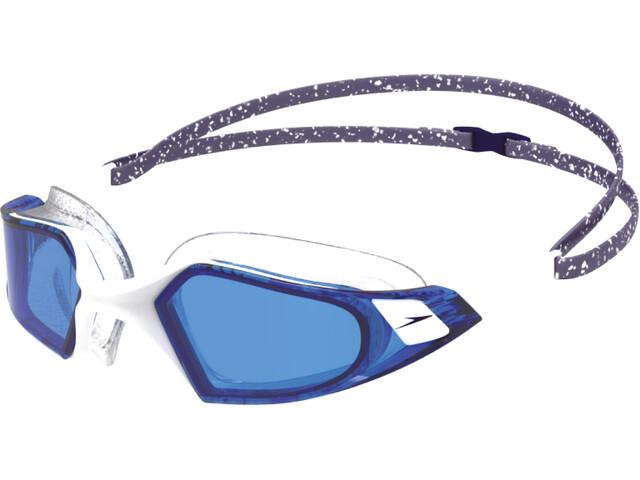 speedo Aquapulse Pro Okulary pływackie, navy/white/blue